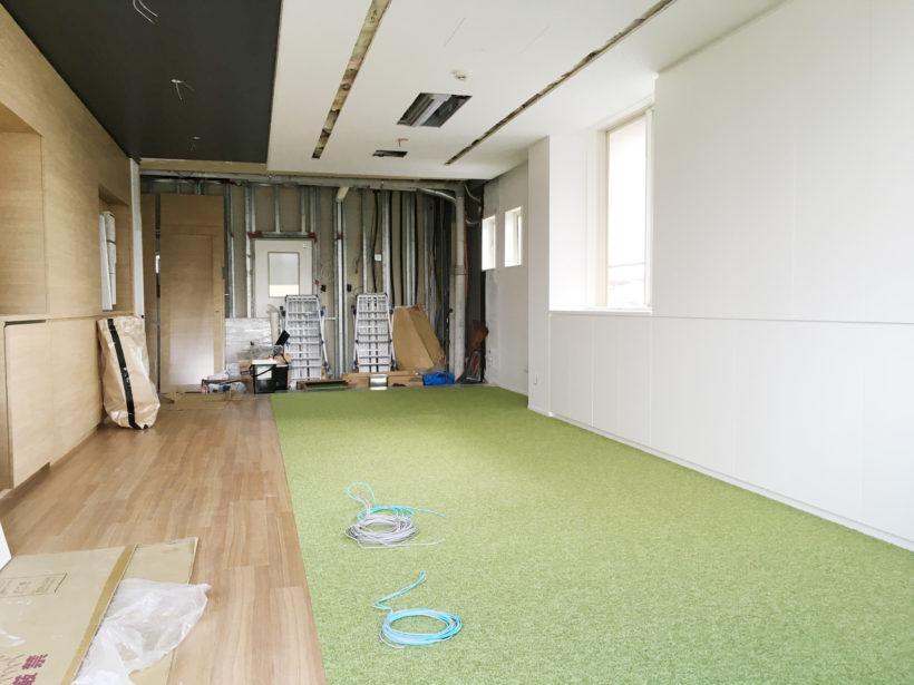 ビニル床シートタイルカーペット工事